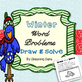 Number Stories kindergarten and 1st grade | Winter Math Activities