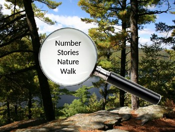 Number Stories Nature Walk - Minibeasts