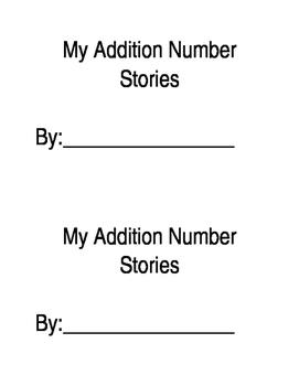 Number Stories Printable