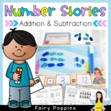Word Problems - Addition & Subtraction {Number Stories}