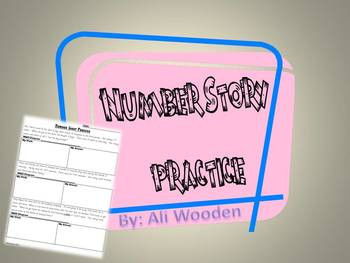 Number Story Practice: All operations