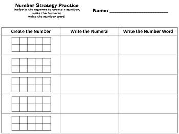 Number Strategies