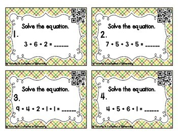 Number Strings Addition Task Cards: Addition to 20