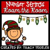 Number Strings Roam the Room (Christmas)