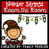 Number Strings Roam the Room (Christmas)