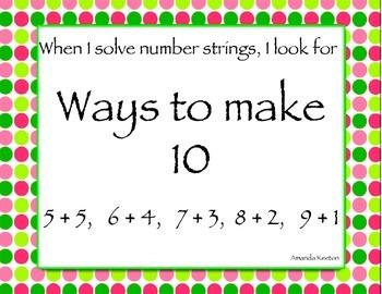 Number Strings: Strategies and Practice