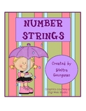 Number Strings for 1st and 2nd Grades