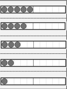 Number Strip Cards