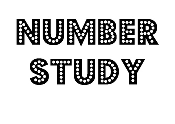 Number Study