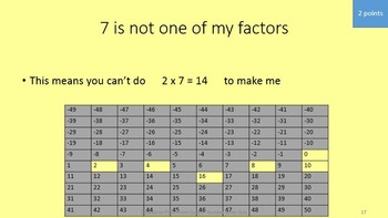 Number Study Quiz PowerPoint