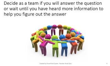 Number Study Quiz PowerPoint