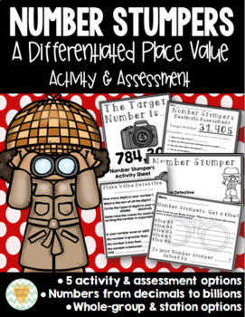 Place Value Games & Activities for the Differentiated Classroom {Grades 2-6}