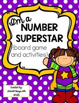 Number Superstar Board Game