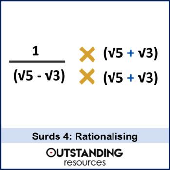 Rationalizing Denominators Activities Teaching Resources Teachers