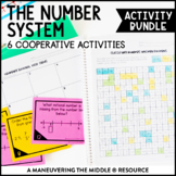 6th Grade Number System Activity Bundle - Rational Numbers
