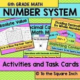 Number System Activities and Task Cards