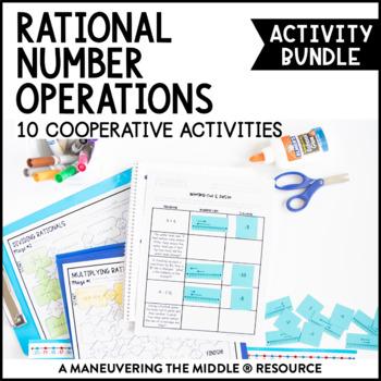 Rational Numbers Activity Bundle