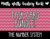 Number System BUNDLE 7th Grade Math Task Cards