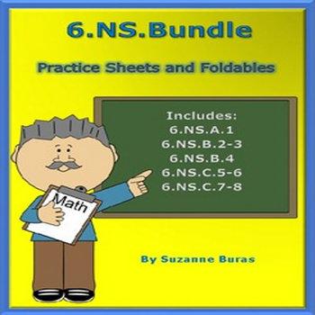 Number System Bundle: 6.NS.1-8
