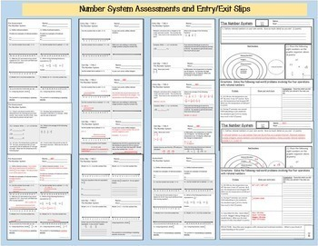 Number System Bundle -7th Grade 7.NS.1, 7.NS.2 and 7.NS.3