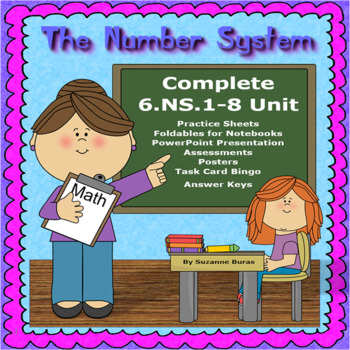 Number System Complete Unit: 6.NS.1-8
