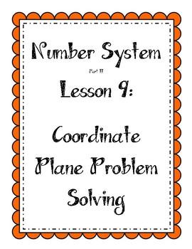 Number System - Coordinate Plane Problem Solving