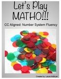 Number System Fluency MATHO
