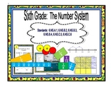 Number System:  Fractions, Decimals, GCF & LCM, Integers& Coordinate Plane