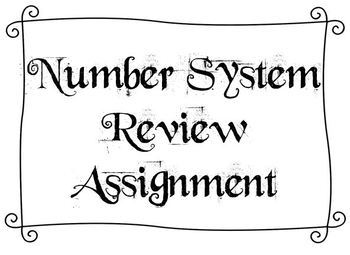 Number System Graded Review Assignment