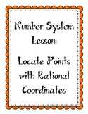 Number System - Locate Points with Rational Coordinates (C