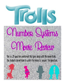 Number System Movie Review Questions - Trolls