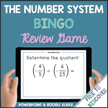 Number System Review Game (7th Grade)
