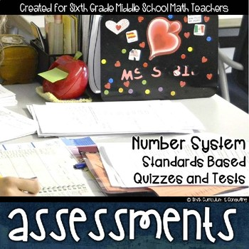 Number System Math Review Standards Based Assessments & Item Analysis