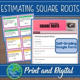Estimating Square Roots - Task Cards