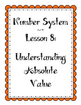Number System - Understanding Absolute Value