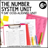 Rational Number System Unit: 6th Grade Math (6.NS.5, 6.NS.7)