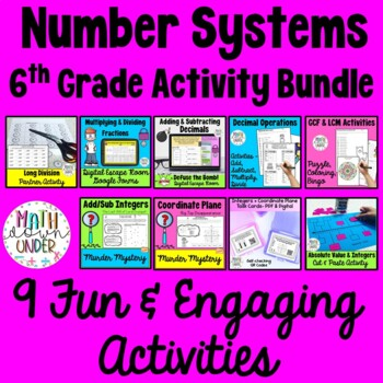 Number Systems Activity Bundle!