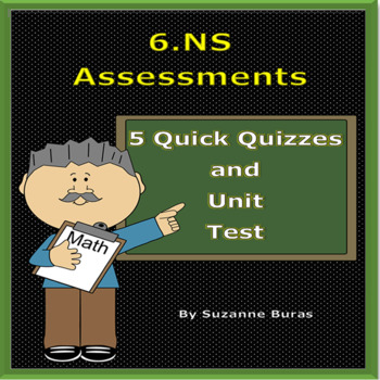 Number Systems Assessments: 6.NS.1-8