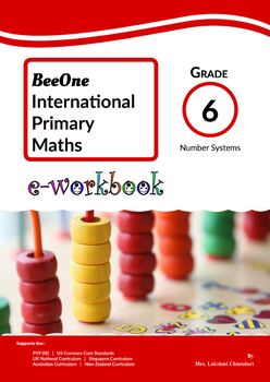Number Systems Grade 6 Maths Workbook from www.Grade1to6.com