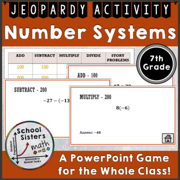 Number Systems Jeopardy