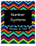 Number Systems Review and Test