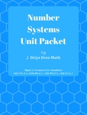 Number Systems Unit Packet