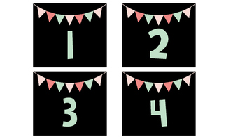 Number Tags (1-32)