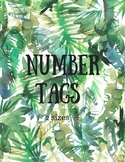 Number Tags (2 sizes)