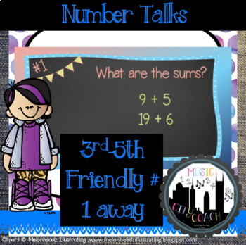 Number Talk-1 Away from a 10