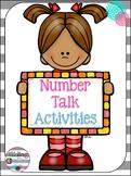 Number Talk Activities