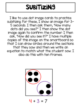 Number Talk Activities {freebie}
