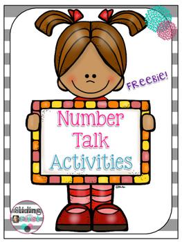 Number Talk Activities {freebie}