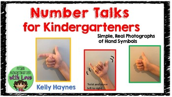 Number Talks or Math Talks Hand Signal Posters