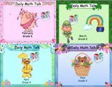 Number Talk - Kindergarten Bundle February - May